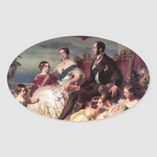 The Royal Family Oval Sticker