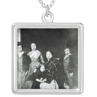 The Royal Family Silver Plated Necklace