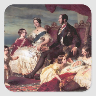 The Royal Family Square Sticker