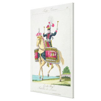 The Royal Guard: a Kettledrummer of the Lancers, p Gallery Wrap Canvas
