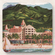 The Royal Hawaiian Hotel Beverage Coaster