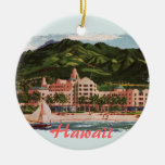 The Royal Hawaiian Hotel Ceramic Ornament