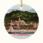 The Royal Hawaiian Hotel Ceramic Ornament