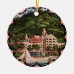 The Royal Hawaiian Hotel Christmas Tree Ornaments