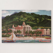 The Royal Hawaiian Hotel Large Puzzle