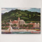 The Royal Hawaiian Hotel Large Puzzle