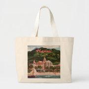 The Royal Hawaiian Hotel Large Tote Bag