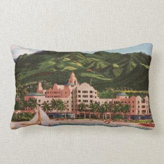 The Royal Hawaiian Hotel Lumbar Pillow
