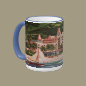 The Royal Hawaiian Hotel Ringer Coffee Mug