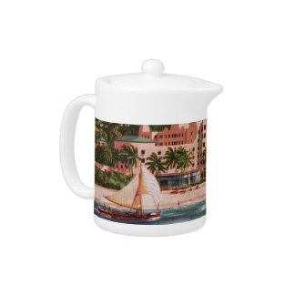 The Royal Hawaiian Hotel Teapot