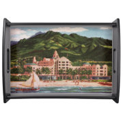 The Royal Hawaiian Hotel Tray