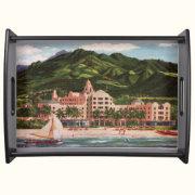 The Royal Hawaiian Hotel Tray