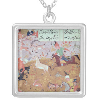 The Royal Hunt Silver Plated Necklace