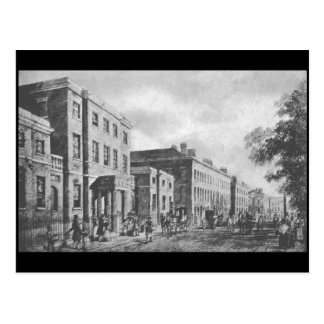 The Royal Institution and Colquitt Street, 1823 Postcard