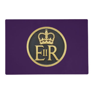 The Royal Jubilee Insignia, UK. Placemat