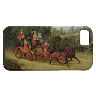 The Royal Mail Coach with Passengers (oil on canva iPhone SE/5/5s Case