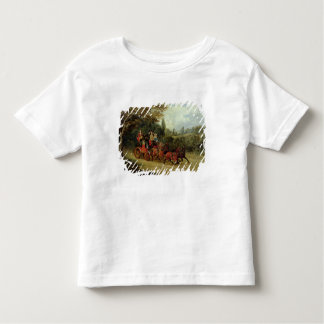 The Royal Mail Coach with Passengers (oil on canva Toddler T-shirt
