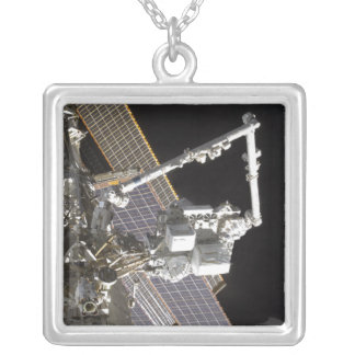 The Royal Marines Payload Attachment System Silver Plated Necklace