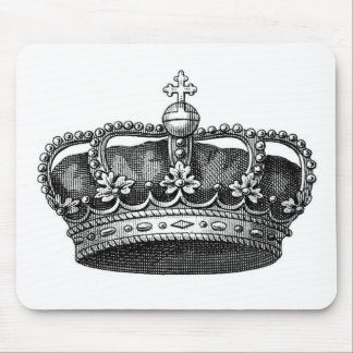 The Royal Me, Victorian Crown Mouse Pad