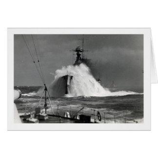 The Royal Oak - UK Marine's Vintage Photograph Greeting Card
