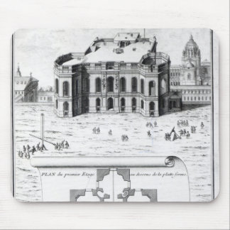 The Royal Observatory in Paris, 1741 Mouse Pad