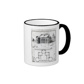 The Royal Observatory in Paris, 1741 Ringer Coffee Mug