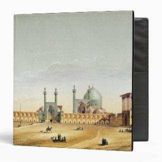 The Royal Palace and the Mesdjid-i-Shah, Isfahan, 3 Ring Binder