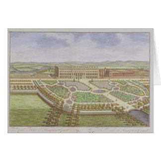The Royal Palace of Hampton Court, from 'Survey of Greeting Card