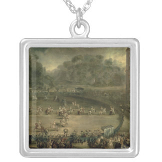 The Royal Parade Silver Plated Necklace