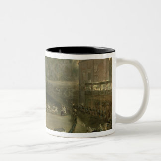 The Royal Parade Two-Tone Coffee Mug
