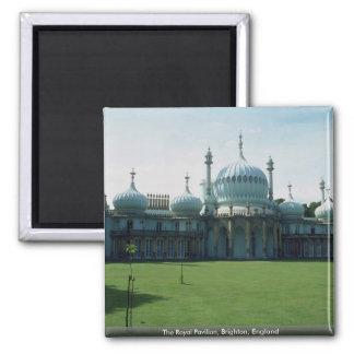 The Royal Pavilion, Brighton, England 2 Inch Square Magnet
