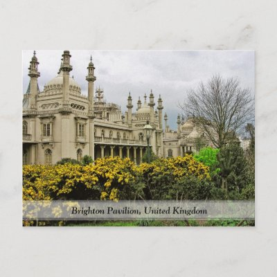 The Royal Pavilion, Brighton (UK) Post Cards