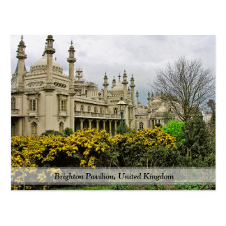 The Royal Pavilion, Brighton (UK) Postcard