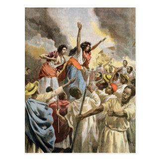 The Royal Princesses Preaching the Holy War Postcard