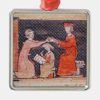 The Royal Prosecutor, the Scribe Metal Ornament