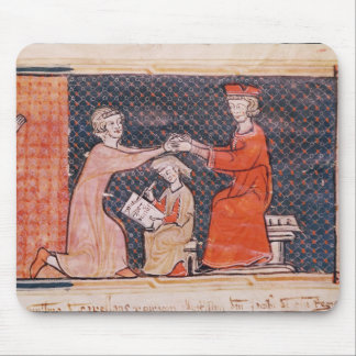 The Royal Prosecutor, the Scribe Mouse Pad