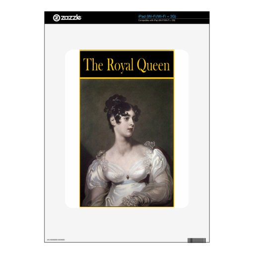 THE ROYAL QUEEN iPad DECAL