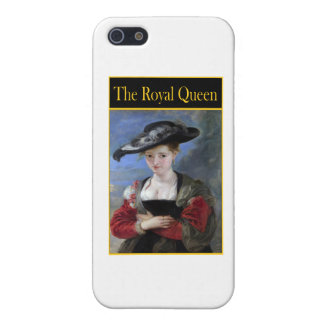 THE ROYAL QUEEN COVER FOR iPhone 5