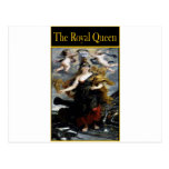 THE ROYAL QUEEN POST CARD