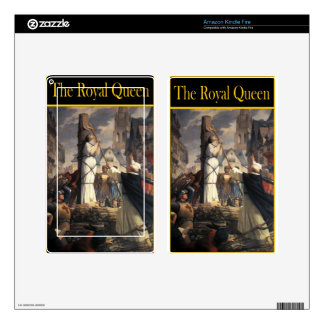 THE ROYAL QUEEN SKINS FOR KINDLE FIRE