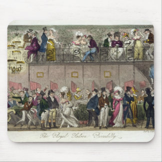 The Royal Saloon, Piccadilly, from 'The English Sp Mouse Pad