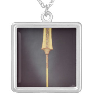 The royal sceptre, from the Tomb of Silver Plated Necklace
