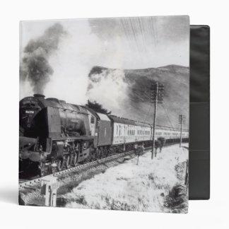 The Royal Scot, intercity locomotive 3 Ring Binder