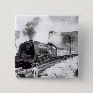 The Royal Scot, intercity locomotive Button