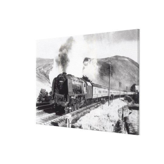 The Royal Scot, intercity locomotive Canvas Print