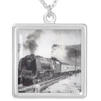 The Royal Scot, intercity locomotive Silver Plated Necklace