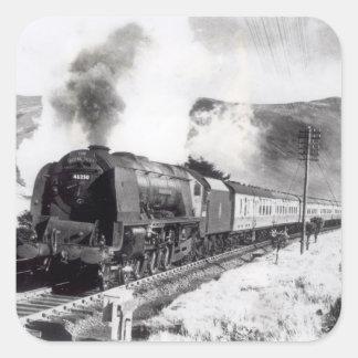 The Royal Scot, intercity locomotive Square Stickers