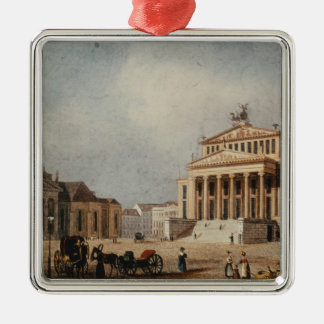 The Royal Theatre and the New Church, 1833 Metal Ornament