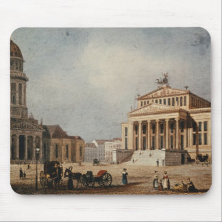 The Royal Theatre and the New Church, 1833 Mouse Pad