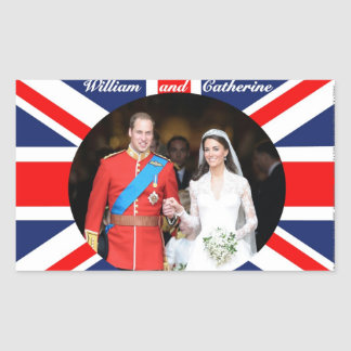 The Royal Wedding 14 Stickers